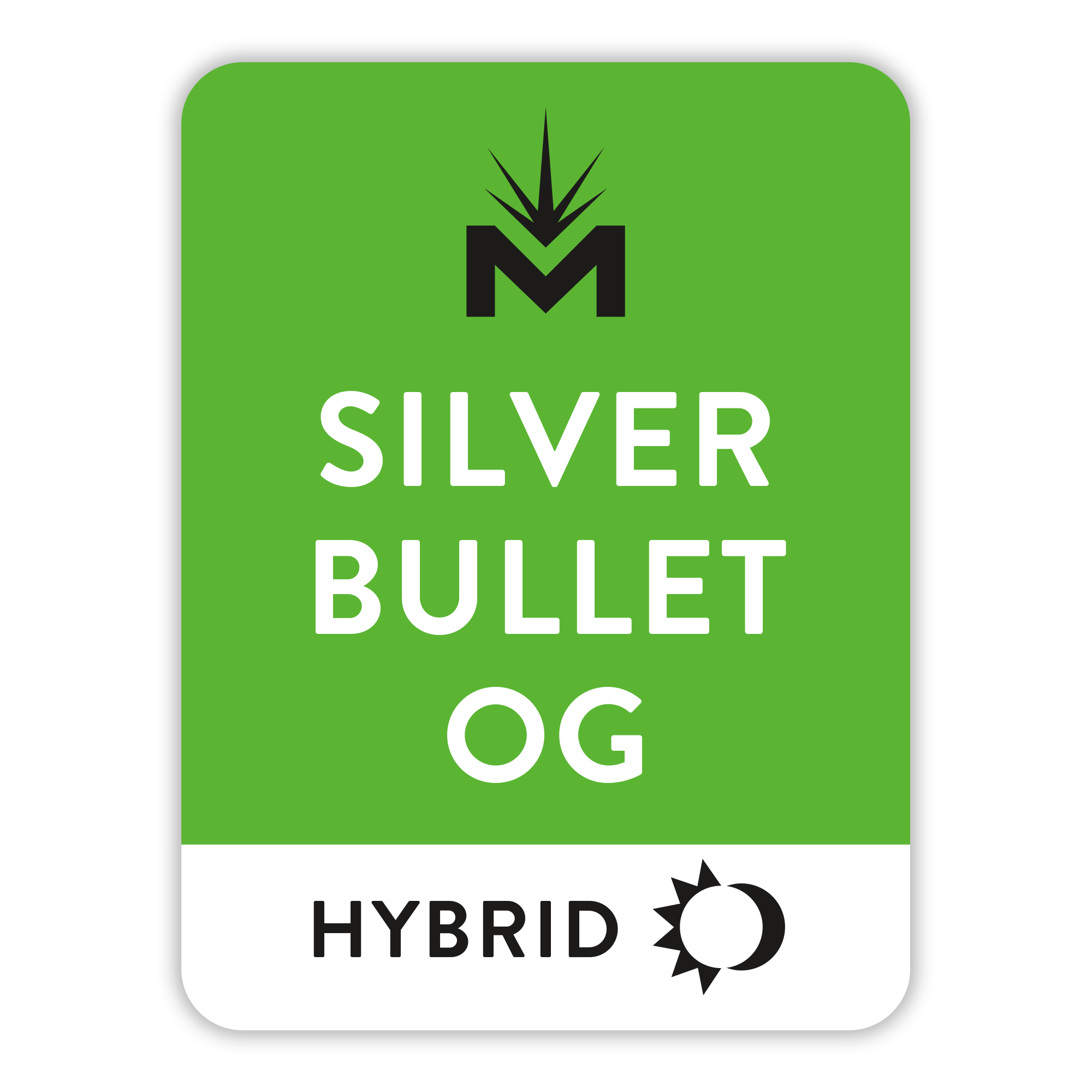 Silver Bullet OG Strain Tile